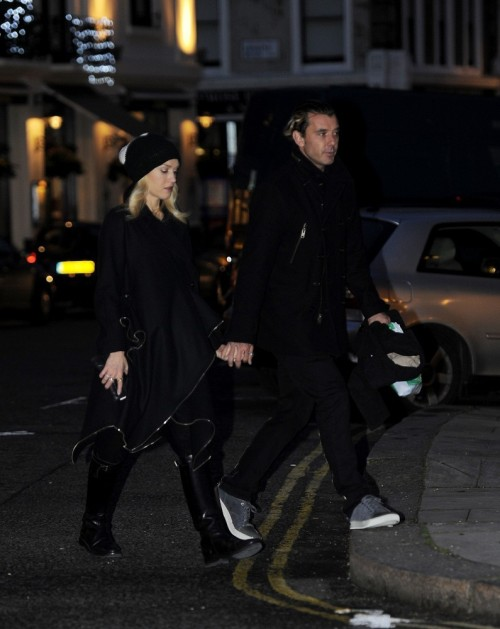 Gwen Stefani and Gavin Rossdale go shopping in Primrose Hill, 3rd January 2013.