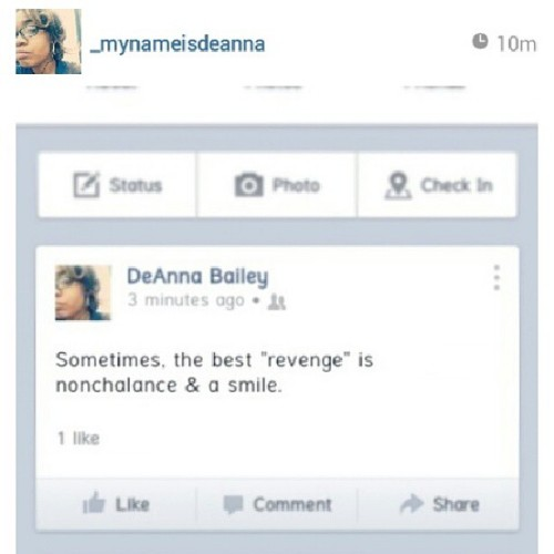 #repost from @_mynameisdeanna .. Dee is so wise!