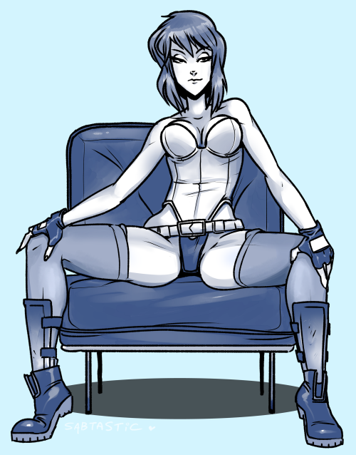 Emergency commission 2 - Motoko Kusanagi