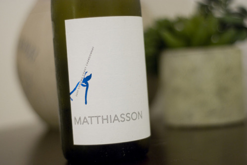 "Matthiasson | 2009 Sonoma Coast Chardonnay This bottle had a ""tang"" from the get go but after sitting around for the past 2 or 3 years that ""tang"" turned into a ""thunk."" Well, it certainly wasn't what I expected and was actually pretty tough to drink. Rather than drain pouring this bottle, as I usually love what Steve Matthiasson does with his wines we capped it and left it in the fridge overnight. On the second evening those notes we were seeking for arrived. Some pineapple, grapefruit, some grass and a bit of acid. Maybe we should have opened this one earlier, but reminded us that the good ones are still worth not giving up on."