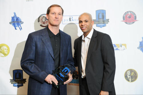 "Oregon Basketball: Dana Altman Receives Jim Phelan National Coach of the Year Story via Oregon.247sports.com:  The Jim Phelan Award is presented annually to the nation's top Division I coach. The award is named in honor of Jim Phelan who coached his entire career at Mount Saint Mary's University. He led the Mountaineers to the 1962 NCAA Men's Division II Basketball Championship. ""Dana Altman took an Oregon team that most people thought was average and led them to the top of the PAC-12 and a spot in the Sweet 16,"" said CollegeInsider.com co-founder Angela Lento. ""Dana isn't a good coach. He's a great coach."""