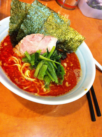 Spicy Miso Pork Ramen @Musashi-ya in Hatagaya by jimmyxpark on Flickr.