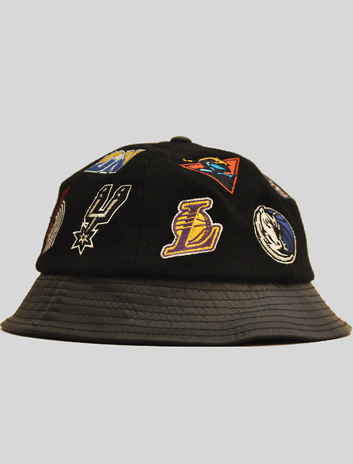vintagexlife:  Leather NBA Bucket Hat