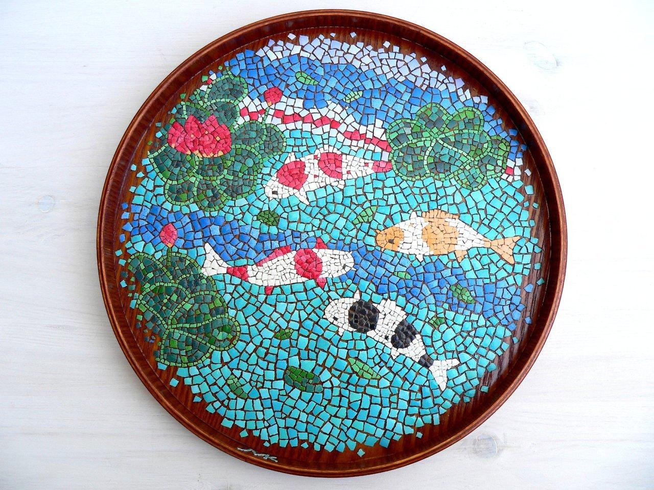 Maria kudriavtzeva mixed media collage art painting for Egg tray wall hanging