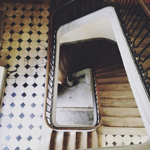 """cage d'escalier"" Photo by Marie Bee"