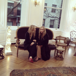 12 Feb 2013: Mary-Kate and Ashley at The Row Fall/Winter Presentation at NYFW