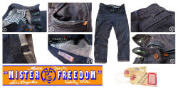 Mister Freedom® mfsc 'Vaquero blue jeans', made in Los Angeles for the discerning Caballero