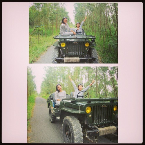 #jeep #ride with @annichabe in #Merapi #Mount #Yogyakarta #Indonesia #holiday #vacation #instagood #girls #asian #instanusantara