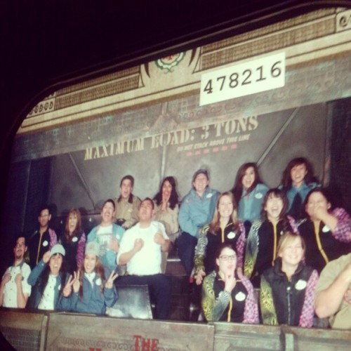 Tower of Terror no show after Mad T. #Castmemberlife