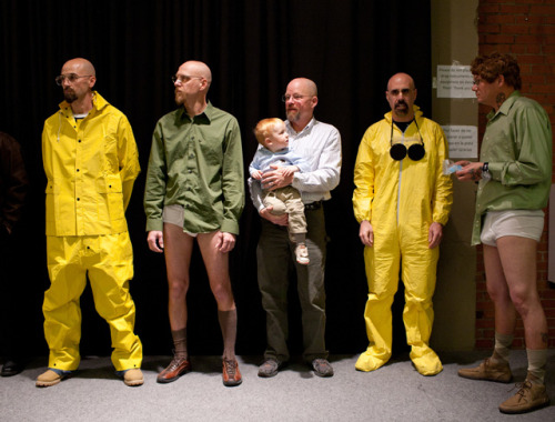 laughingsquid:  A Walter White Lookalike Contest, Judged by Bryan Cranston