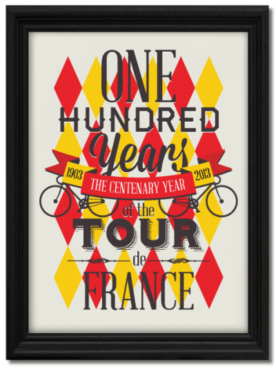 bicyclestore:  Tour de France Centenary by Neil Stevens