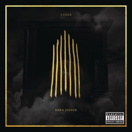 J. Cole - Born Sinner (Artwork) Cole announced that his sophomore album will now be releasing June 18th, the same day as Kanye. The deluxe edition (above) will feature 21 tracks while the standard issue (below) will hold 16.    Previous: J. Cole Born Sinner Vlog (Ep. 2: Kendrick Lamar)
