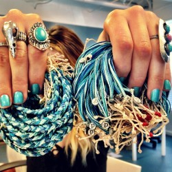 "puravidabracelets:  Wahoooo! Our ""SAVE THE DOLPHINS"" bracelet is finally back in stock! Also, due to popular demand, we've created the BRAIDED version for you guys as well! Shop both of these bracelets NOW before we sell out! Simply visit PuraVidaBracelets.com and search ""DOLPHINS""! @laurenbutlaa ✌🐬💙 #savethedolphins #ops #giveback #livefree #puravidabracelets (at Pura Vida Bracelets HQ)"
