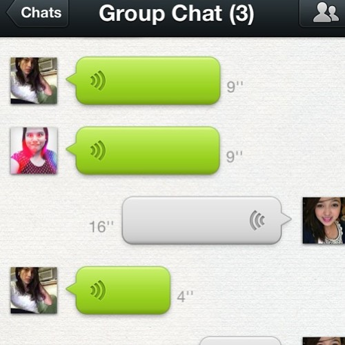 Wechat is on!  (at Baras Rizal Tampoy Village)
