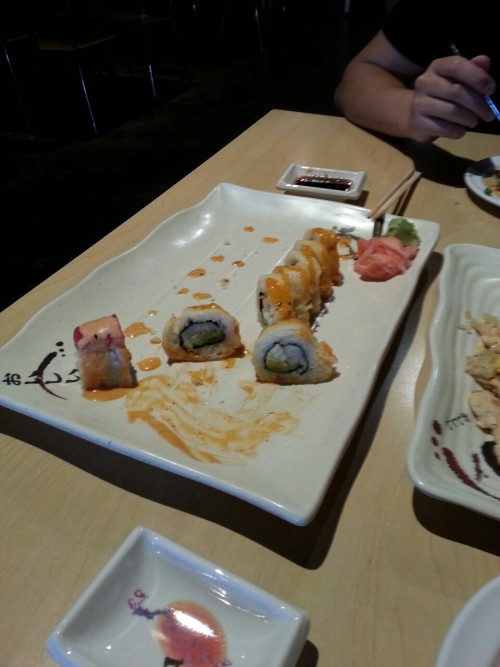 This sushi was so good