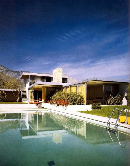 Kaufmann House,Richard Neutra,Palm Springs, California, 1947 — Julius Shulman