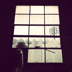 Hoboken window (at Hoboken Coffee Roasters)