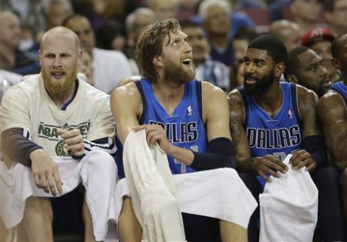 Dallas Mavericks Beard Gang get cut son