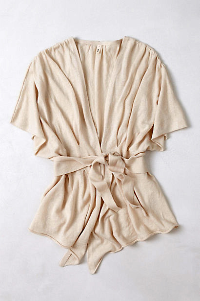 [Draped Wrap Sweater by Anthropologie]