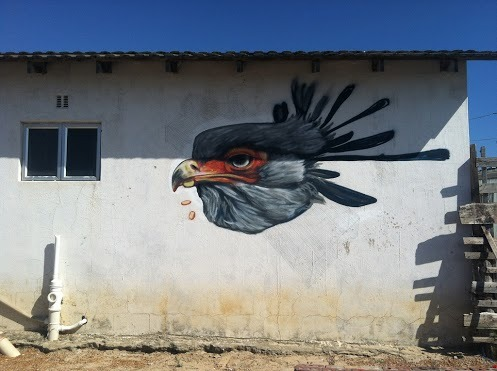 artinstreet:  Gaia New Street Piece In Khayelitsha, South Africa