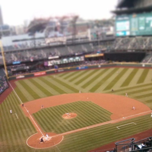 Go Mariners! (at Safeco Field)