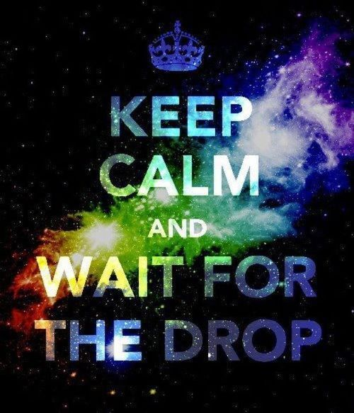 amandachristy93:  Keep Calm and Wait for the Drop