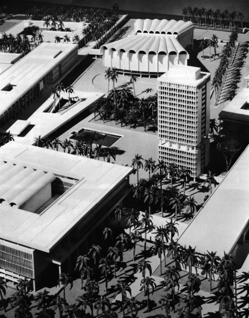 archiveofaffinities:  Walter Gropius/The Architects Collaborative, Baghdad University, Baghdad, Iraq