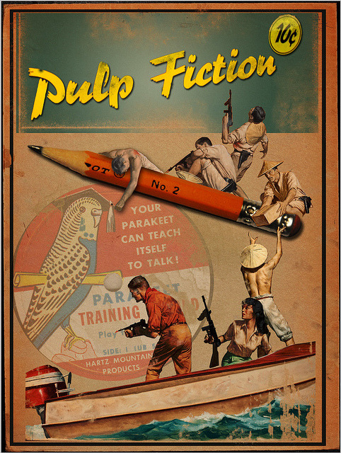 klappersacks:  Pulp Fiction No.9 by Lew57 on Flickr.