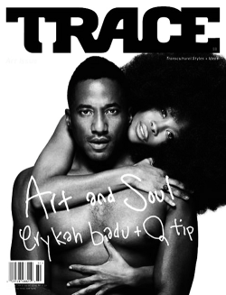 luvhugsandhiphopsoul:  Q-Tip+Erykah Badu on the cover of Trace Magazine.