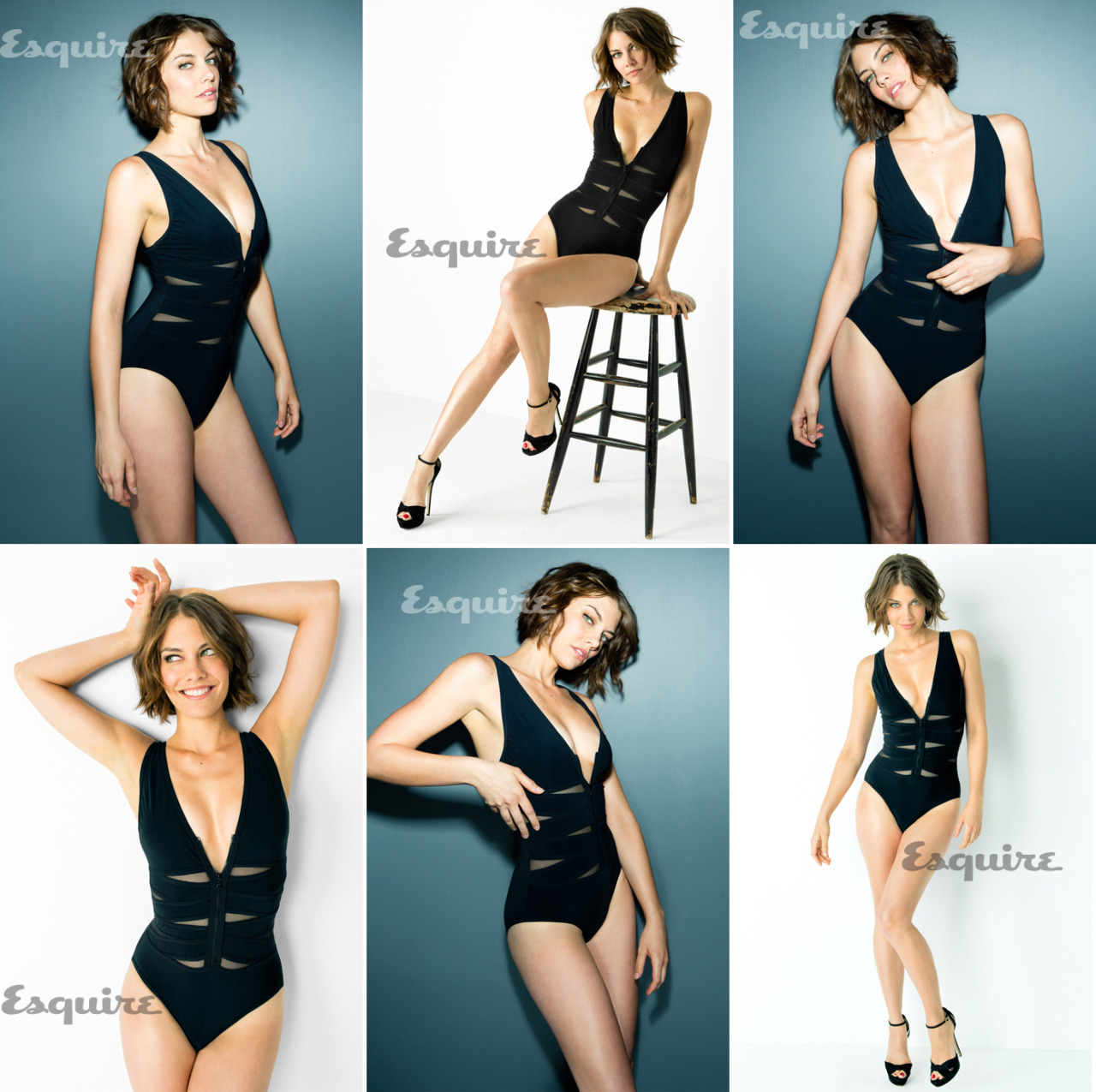 pussylequeer:  Lauren Cohan - Esquire by Ari Michelson, February 2013
