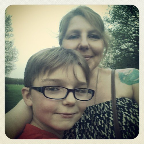 Me & my baby #son #family #love #park