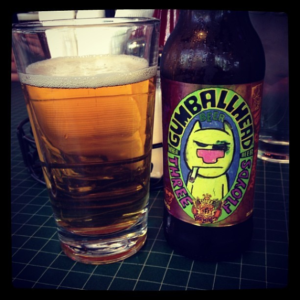 Gumballhead, fuck yes! #ThreeFloyds