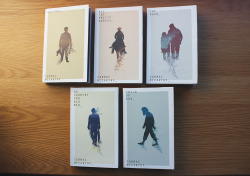 Cormac McCarthy Book Covers_ Set of illustrative book covers for a series of Cormac McCarthy novels. The idea was to attract a new audience to the very traditional novels through the use of a more contemporary design.