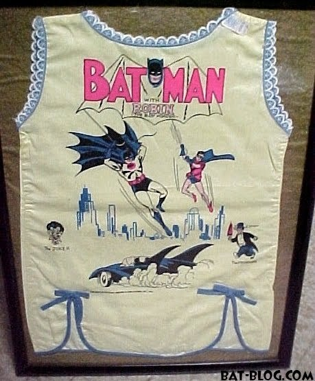 Rare Batman shirt for girls (1966) [via Bat-Blog]