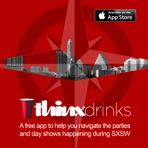 SXSW has begun! If you need a little help figuring out which parties to go to, you can download our app here. I'm going to be checking out some of the mobile events, and of course I'll be at the Tumblr events. I hope to see you at one of them!