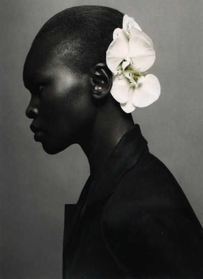 leeuin:  Alek Wek by Sølve Sundsbø for i-D Magazine - http://whrt.it/10laYMP