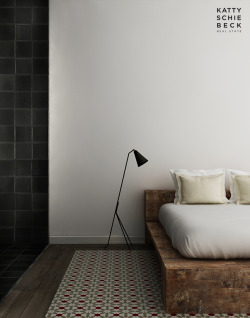 (vía Somewhere I would like to live: New project / Wood and White Apartment in Barcelona)