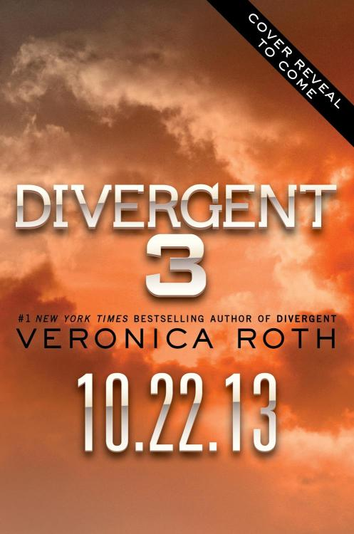 Divergent #3 goes on sale in the US on October 22, 2013!
