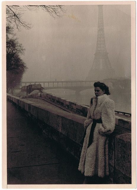 lifeinthe1940s:  Paris-1949