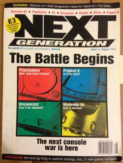 theonetruenators:  gentlemanbones:  ghostanime:  1998 Gaming Magazine  Hindsight is hilarious.  playstation: how long does it have? into eternity and forever Project X: is it for real? no Dreamcast: can it be stopped? in its tracks nintendo 64: can it survive it could survive the seventy-fifth annual hunger games armed with nothing but a mildly rotten cantaloupe and a set of assembly instructions for an ikea desk