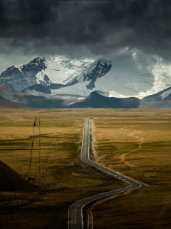 landscapelifescape:  Tibet Trust me, i'm an Engineer by Coolbiere. A.