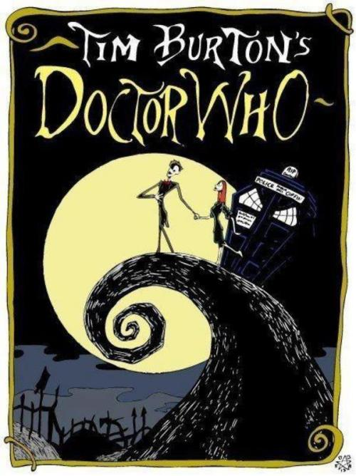 Doctor Who & Nightmare Before Christmas?! This is probably my most favorite mash up EVER!!!