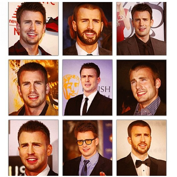 belovedshirts:  Leave #chrisevans alone. He's just a little confused…. all the time