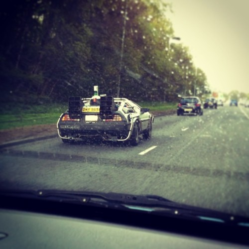 Just nearly wet myself. #bttf #delorean #fuckingyes!