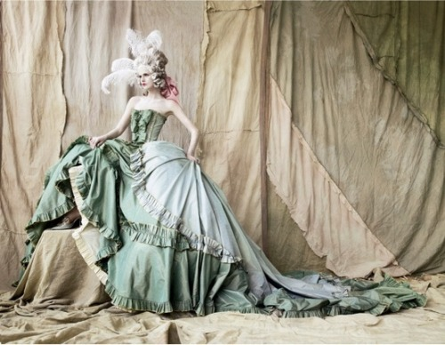 John Galliano for Dior Haute Couture: Marie Antoinette inspired collection S/S 2006