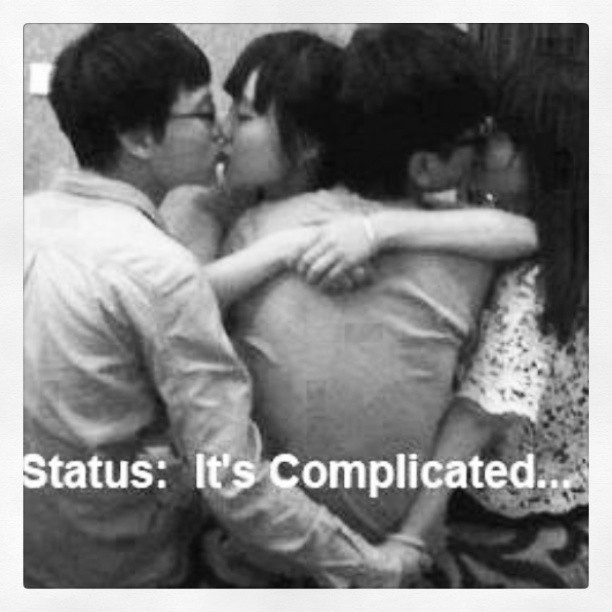 Its complicated #asians #korean #drama #kdrama #facebook #status