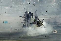 Brutal accidente en Daytona.La Nascar ha vivido un nuevo caos con el accidente múltiple protagonizado por Austin Dillon y que ha provocado trece heridos entre el público. (Reuters)
