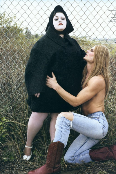 giveme-givenchy:  Beth Ditto and Blake Kuchta for Pop Fall/Winter 2007