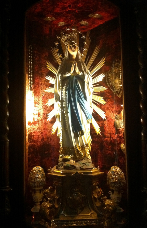 Our Lady of Lourdes in the church of Santa Marija ta' Gesu in Valletta, Malta.