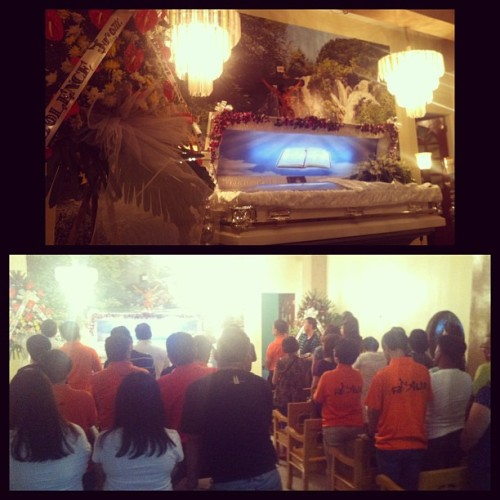 Second night 😇🙏 #PrayerService #RestInPeaceNanay  (at RBN Funeral Homes)
